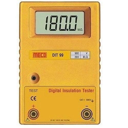 Insulation Tester, Meco DIT-99C, Digital Insulation Tester