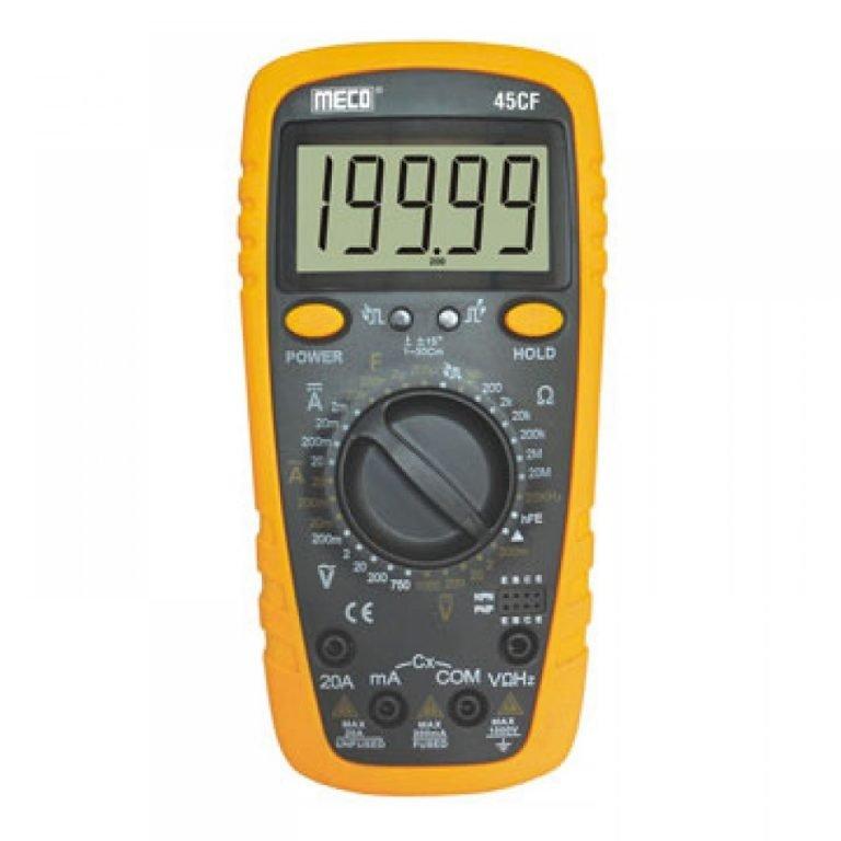 Meco 45CF Multimeter, Digital Multiteter, Meco 45CF Digital Multimeter