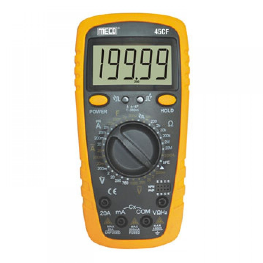 Meco 45CF Multimeter, Digital Multiteter, Meco 45CF Digital Multimeter