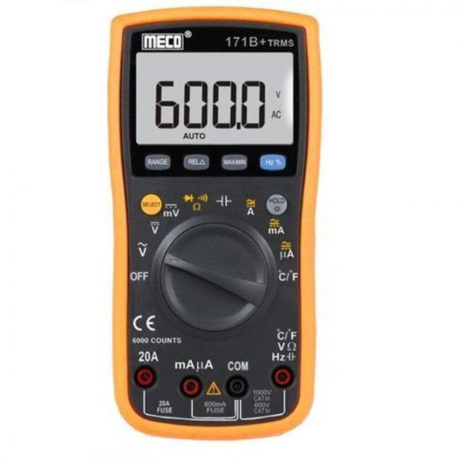 Meco 171B+ TRMS Digital Multimeter