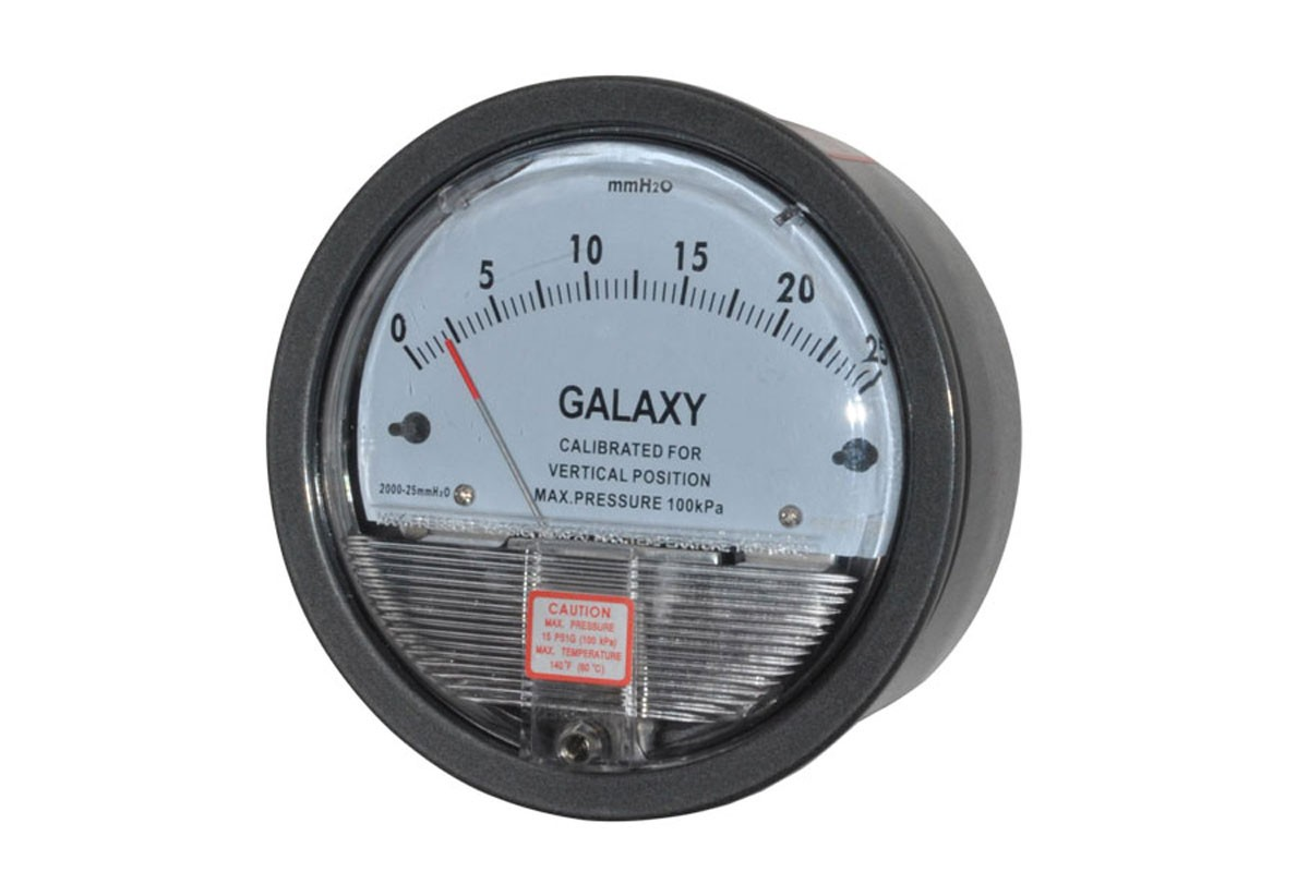 Galaxy Differential Pressure Gauge, G 2000, Galaxy G 2000, Differential Pressure Gauge