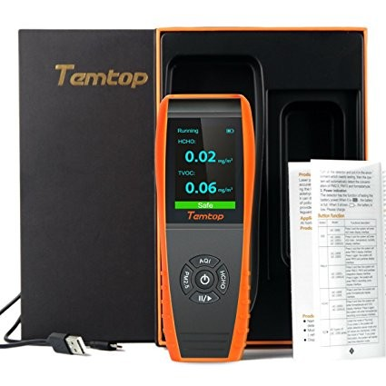 Temtop LKC-1000S+ Air Quality Monitor