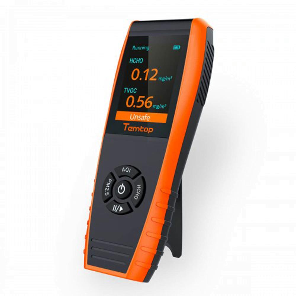 Temptop air quality monitor