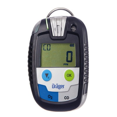 Drager Pac Single Gas Detector,O2 Gas Detector
