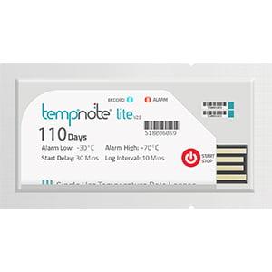 Tempnote Lite Single Use Temperature Datalogger