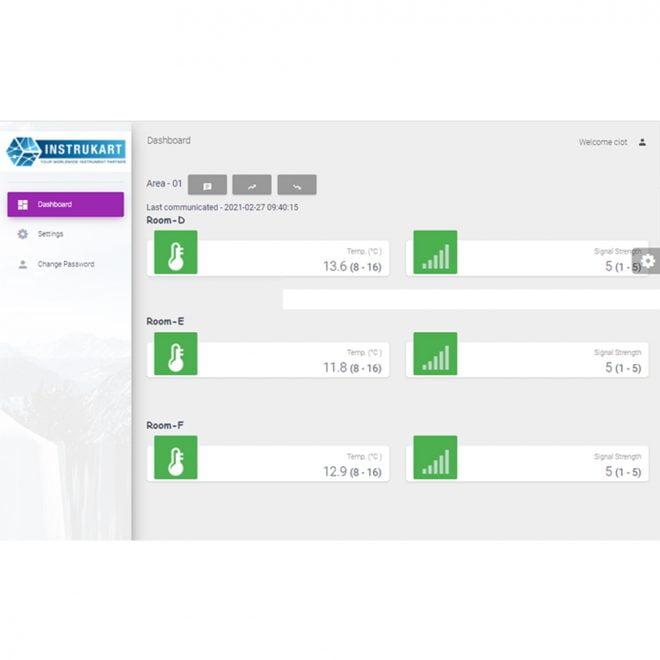 AI-TAM1-IoT Dashboard