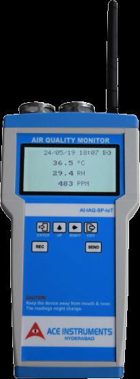 Clean Room Monitor | Gauge | Gas Detector | Data Logger | IAQ Monitor