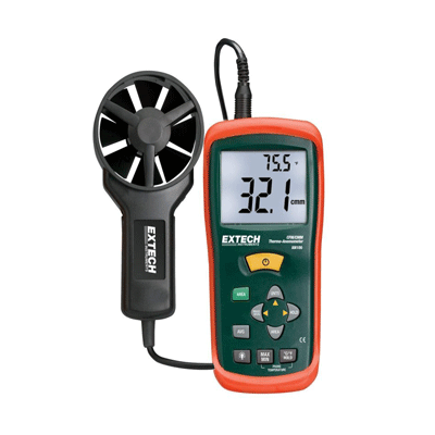 Extech AN 100 CFM/CMM Thermo Anemometer