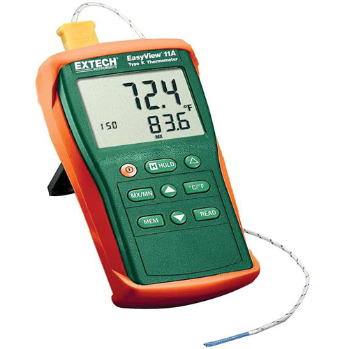 Extech EA11A K Type Single Input Thermometer