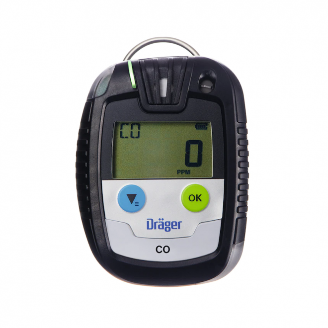 Drager Pac 6500 Portable CO Gas Detector