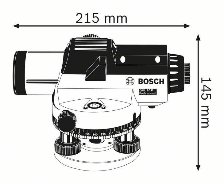 Bosch GOL 26 D Professional Level 1