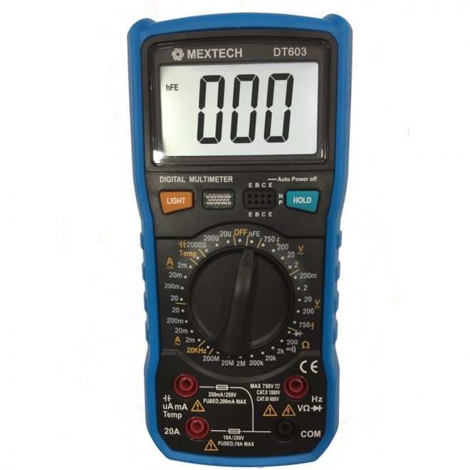 Mextech-DT-603-Digital-Multimeter