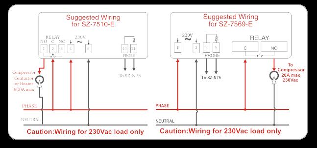 Subzero SZ-7510E Temperature Controller 2