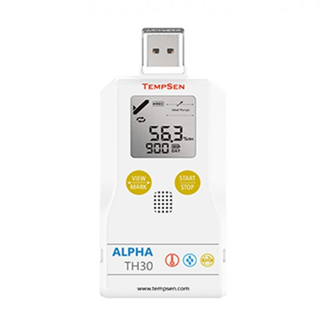 Tempsen-Alpha-TH-30-Data-Logger