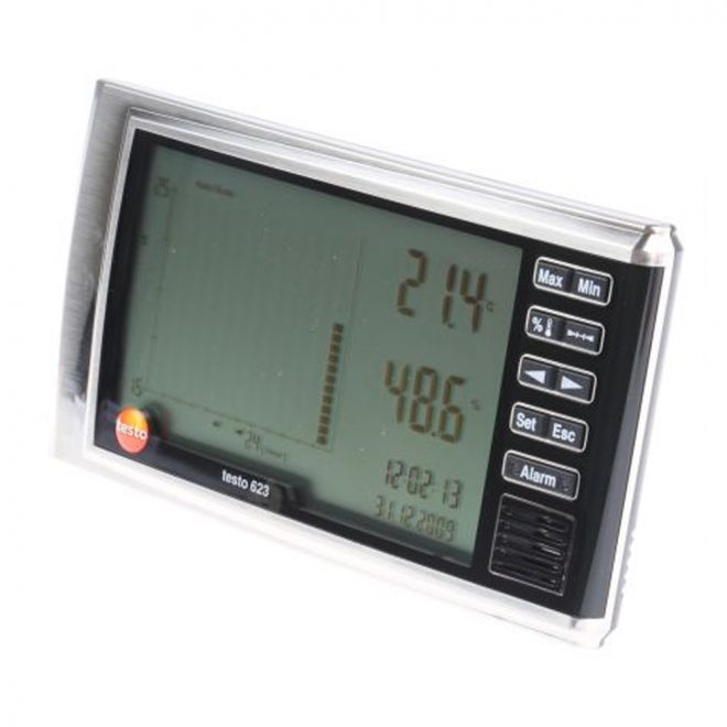 Testo 623 Temperature And Relative Humidity Meter 1