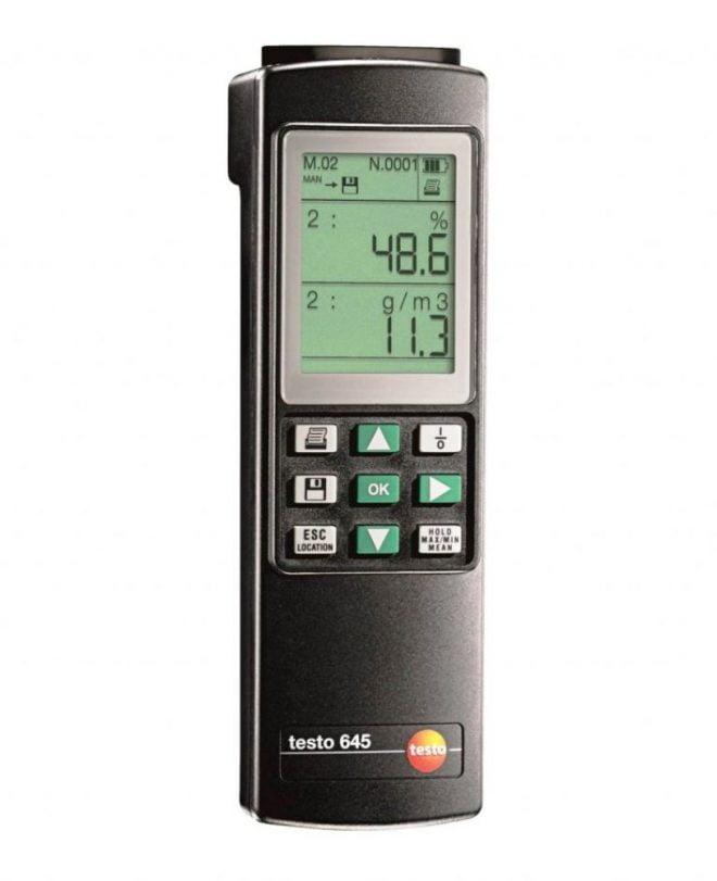 Testo-645-HumidityTemperature-Measuring-Instrument