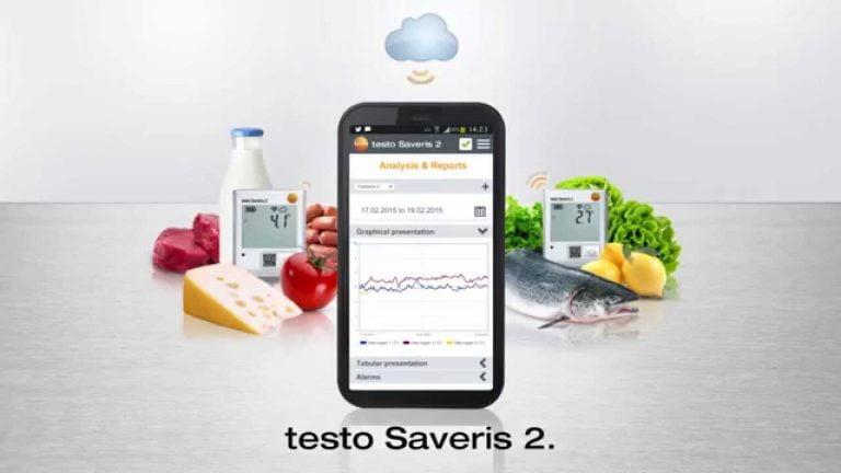 Testo Saveries 2 wifi datalogger 2