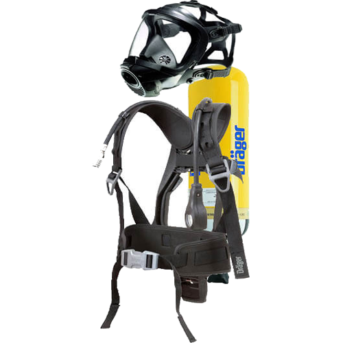 SCBA Set, Breathing Apparatus , Mild Steel SCBA Set , Drager Self Contained Breathing SCBA