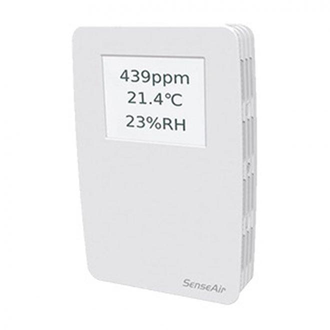 tSense Touch Screen CO2 + RH Temp Transmitter 2