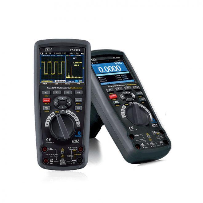CEM DT-9989 Multimeter with oscillometer 3