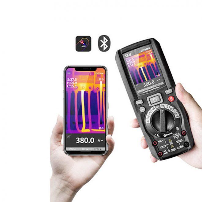 CEM DT 9889 Digital Thermal Imaging Multimeter