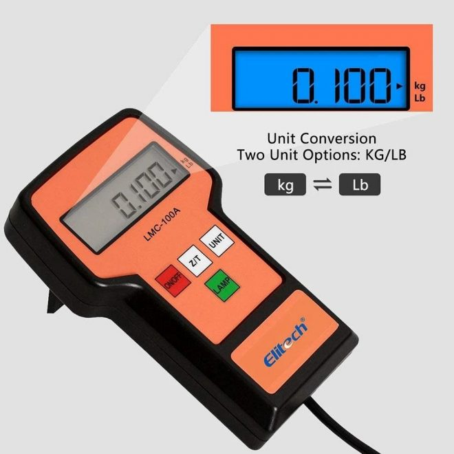 Elitech LMC-100A Electronic Refrigerant Scale
