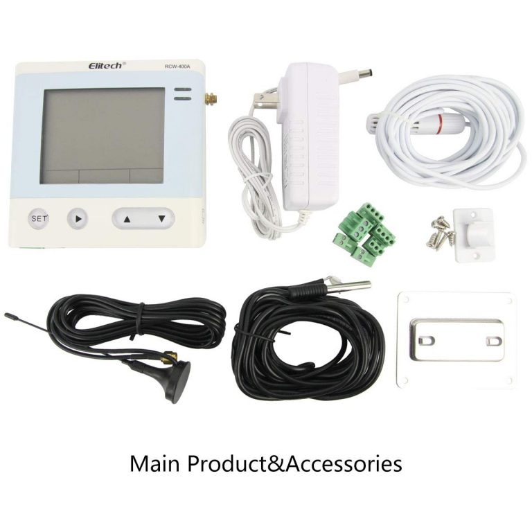 Elitech RCW-400A Wireless Temperature and Humidity Data Logger Remote Monitor 4