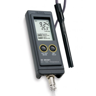 Hanna HI 99301 Portable High Range EC/TDS Meter