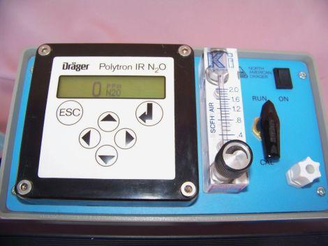 Dräger Polytron IR N2O Fixed Gas Detector 2