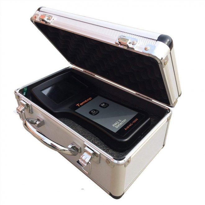 Temtop Airing-1000 Air Quality Monitor with casing
