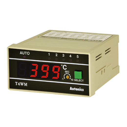 autonics t4wm temerature indicator