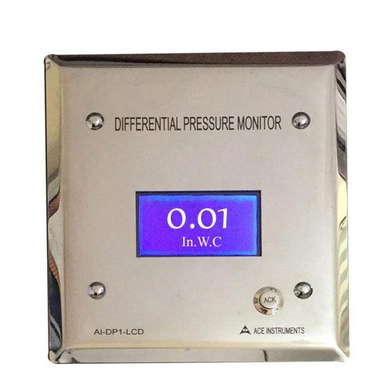 Isolation Room Pressure Monitor