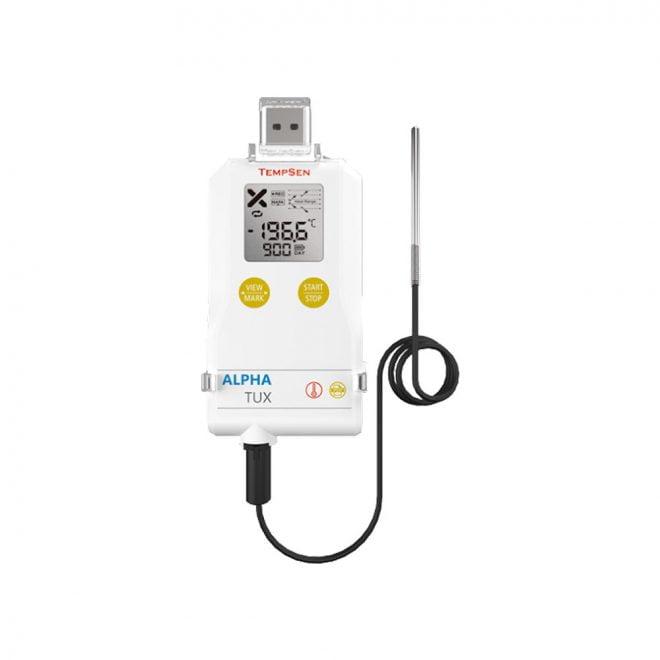 Tempsen Alpha TUX Ultra Low Temperature USB PDF Data Logger