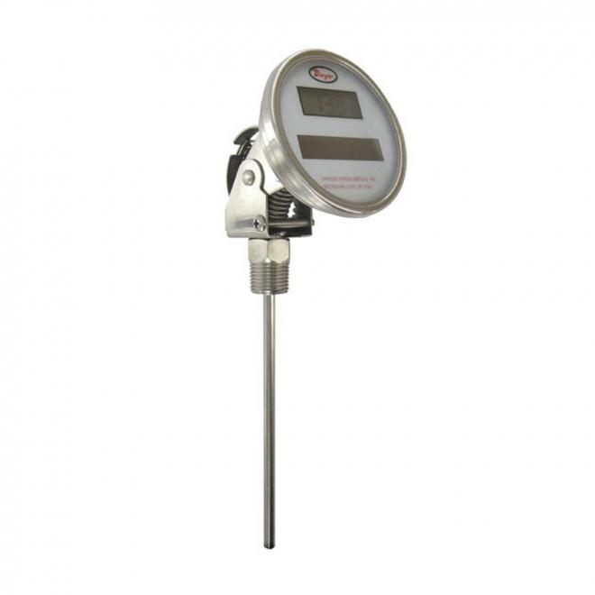 Dwyer DBT Series Digital Solar Powered Bimetal Thermometer
