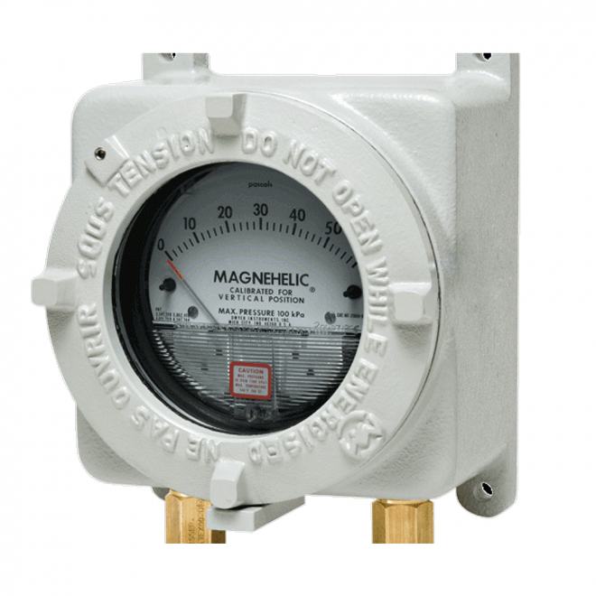Dwyer AT22000 Flameproof Magnehelic® Differential Pressure Gauge