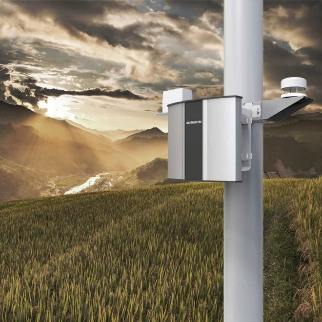 Agriculture-Monitoring-With-Automatic-Weather-Station-Oizom-Weathercom-Lite