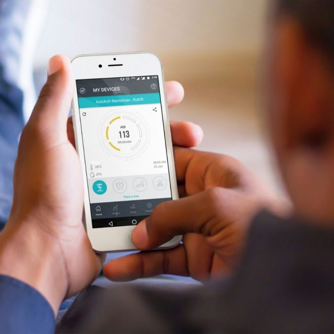 Mobile-App-For-Ambient-Air-Quality-Monitoring-System-(AAQMS)-Oizom-Polludrone-Lite
