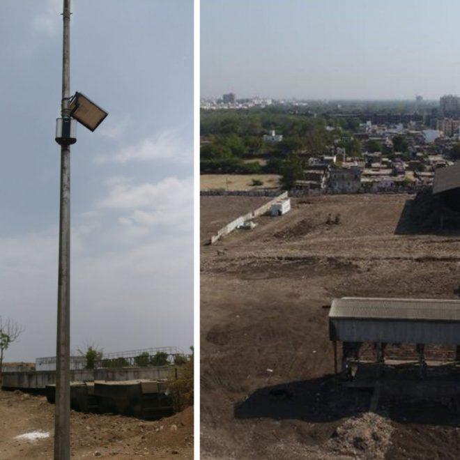 Vadodara-Landfill-Site-Dumpyard-For-Foul-Smell-Monitoring-System-Oizom-Odosense-Smart