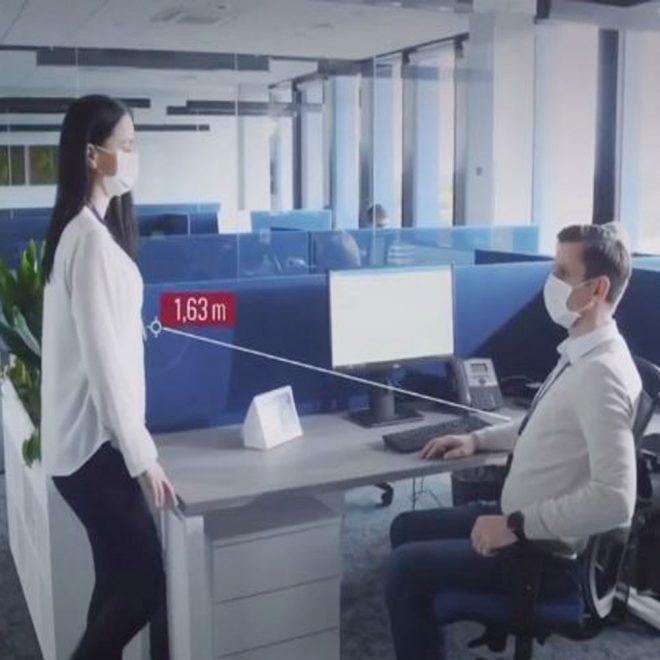 Ace AI5200 Social Distance Violation Alarm Monitor