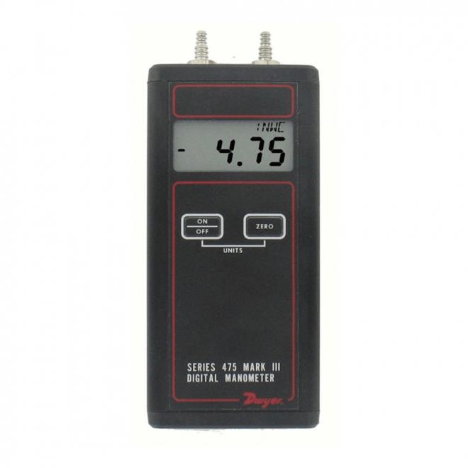 Dwyer 475-1-FM Mark III Handheld Digital Manometer