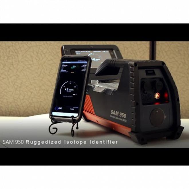 SAM 950 Ruggedized Isotope Identifier