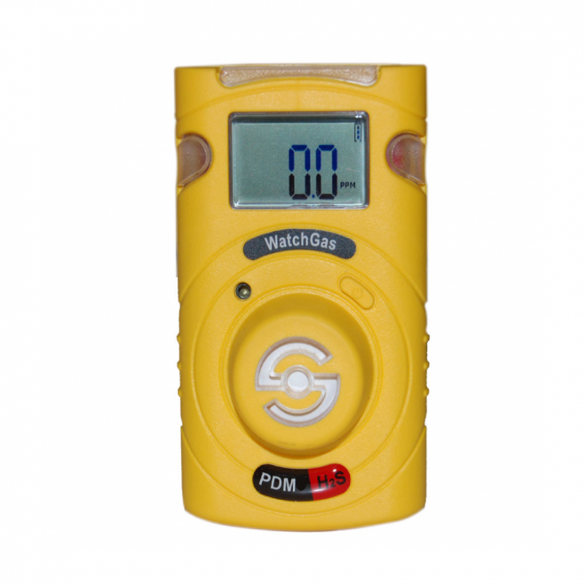 Watch Gas PDM sustainable H2S gas Detector