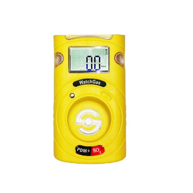 WatchGas PDM +Sustainable SO₂ Single-Gas Detector