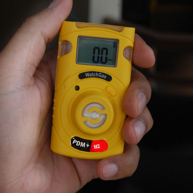 WatchGas PDM+ Sustainable H2 Single Gas Detector