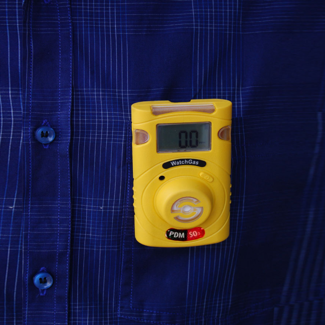 WatchGas PDM+ Sustainable CO Single-Gas Detector