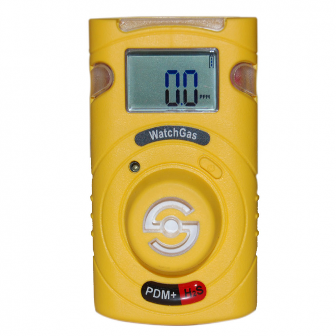 WatchGas PDM+ Sustainable H2S Single-Gas Detector