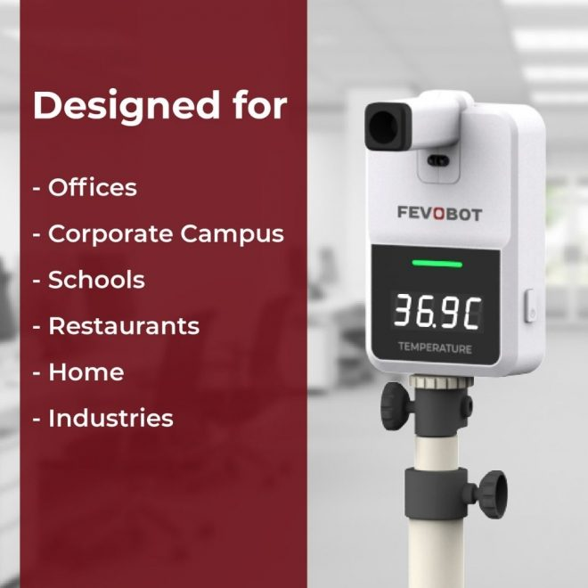 FEVOBOT-by-Oizom-Smart-Fever-Monitor-Thermometer-Covid19