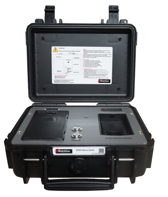 WatchGas PDM NH3 Single Gas Detector