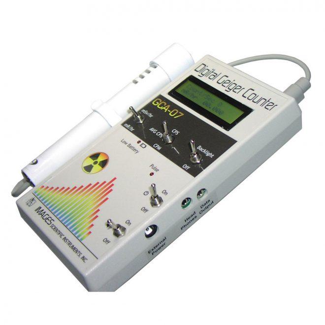 IMAGESCO GCA-07 Series Geiger Muller counter