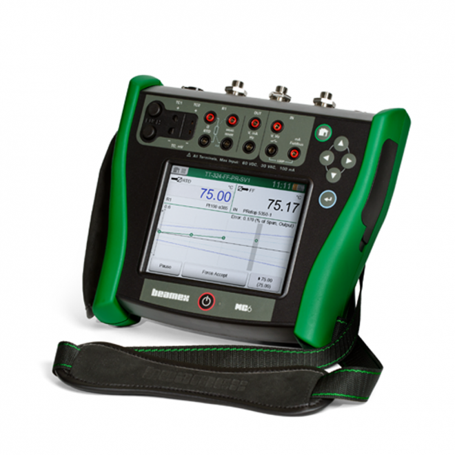 Beamex MC6 Advanced Field Calibrator and Communicator